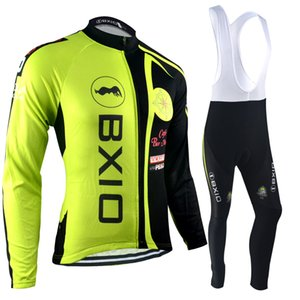 BXIO Brand Recommend Item Winter Thermal Cycling Jerseys Anti Pilling Cycling Clothes Anti Shrink Cycle Jersey Long Sleeve Set BX-039