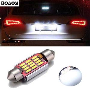 CANBUS ошибка бесплатно C5W 36 мм гирлянда 12 SMD LED интерьер автомобиля лампы номерного знака огни для Volkswagen Golf 3 4 5 6 Passat 3C B6 B5 Polo