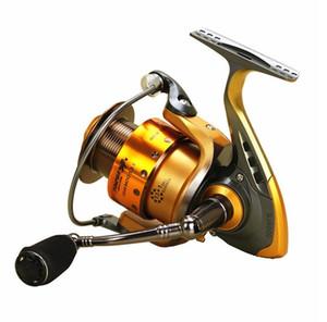 Yumoshi 2017 New Spinning Fishing Reel Metallic Spool 13+1 Ball Bearing molinete Para Pesca 2000 3000 4000 5000 6000 7000 Series