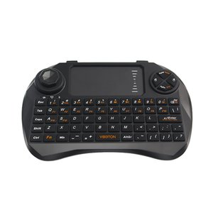 Freeshipping Raspberry Pi Mini Keyboard 2.4G Wireless Touchpad Mouse Gaming Keyboard for Orange Pi Android TV Box Laptop With Battery