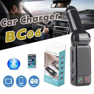 BC06 Caricabatteria per auto Bluetooth BT Ampia utilità per lettore musicale senza fili BC-06 Carta di TF per supporto Mini doppie porte Ricarica FM Trasmettitore FM