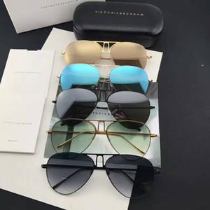 2017 جديد vb النظارات فيكتوريا بيكهام gafas دي سول مكبرة طرق البيضوي مربع نظارات الرجال والنساء نظارات الشمس اللون فيلم oculos الماركة