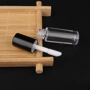 0.8ml mini Vuotare chiaro Lip Gloss Tube - bottiglia di plastica Lip Balm - Dimensioni: 5.0x1.3cm viaggio Ricaricabile Rossetto Sample Container - all'ingrosso