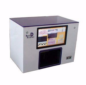 Принтер ногтя 5 цифровой принтер ногтя ногтя печатная машина ногтей новый Upgrated CE одобрил строение компьютера внутри видео для того чтобы научить