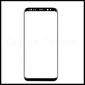 Original neue LCD äußere Glasscheibe für Samsung Galaxy S8 G950 S8 Plus G955 Frontscheibe äußere Glaslinse Ersatz
