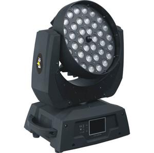 Ücretsiz kargo Guangzhou Sahne Aydınlatma CE DMX Yakınlaştırma RGBAW 36x15 W 5in1 LED Yıkama Kafa Işık Hareketli