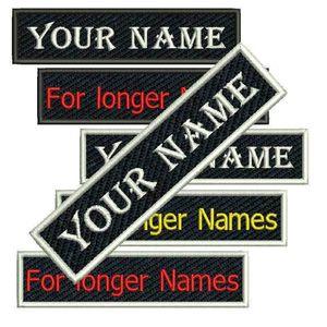 Serin Özel Ad Etiketi İşlemeli Yama Giyim veya Şapkalar Üzerine Dikmek veya Demir Herhangi bir yazı tipi Boyutlar ve Renk Mevcuttur Yama