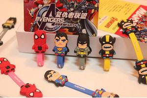 Yeni Süper kahraman Avenger serisi Transformers Kulaklık karikatür Kablo Sarıcı tel Organizatör Kordon Tutucu Kablo Sarıcı sumsung iphone 5 6 7