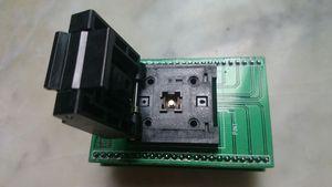 PCB Adaptör programlama ile QFN32 MLF32 Enplas IC test Soket QFN32 (40), BT-0,5-02