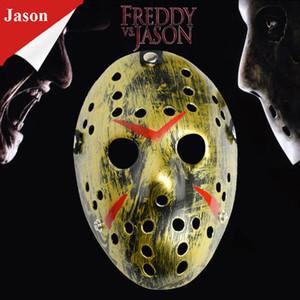 Freddy gegen Jason Maske Halloween Memorial Classics Film Jason Voorhees Freddy Hockey Harz Masken Cosplay Maskerade