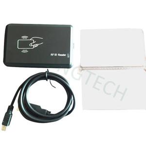 Читатель смарт-карты близости черноты читателя USB 125khz EM4100 RFID безконтактный