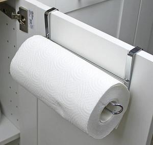 Yeni Mutfak Kağıt Tutucu Askı Doku Rulo Havlu Askısı Banyo Tuvalet Lavabo Kapı Asılı Organizatör Depolama Kanca Tutucu Raf
