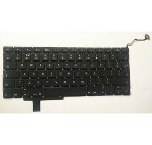 """Nouveau clavier britannique compatible avec Macbook Pro A1297 17 """"Clavier Unibody britannique non rétroéclairé 2009 2010 2011"""