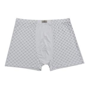 Nouveaux hommes 95% fibre de bambou sous-vêtements respirant mens boxers shorts hommes sous-vêtements mode sous-vêtements, plus la taille 8XL, 11XL 5PCS / LOT