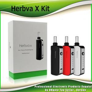 Original Airis Herbva X Starter Kits 1800mAh Batterie 3 In 1 Kraut Wachs Dickes Öl Vaporizer Vape Pen Kit Keramikkammer 100% Authentisch
