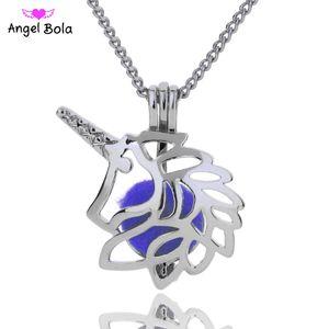 5 / lot 3 stili all'ingrosso in magazzino 18kgp Fashion King of bestie gabbie leone FAI DA TE perla / gemma perline gabbia medaglione pendente neckl