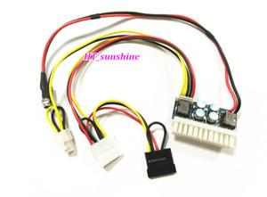 Freeshipping 10 ADET / GRUP DC 12 V 250 W 24Pin Pico ATX Anahtarı PSU Araba Oto Mini ITX Yüksek Güç Kaynağı Modülü 24Pin 4Pin CPU 4 P IDE