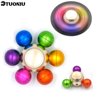 Colorful 4~7 minutes hand spinner Aluminium alloy Sophisticated High Speed Prefect Stress Reducer And Killing Time Metal fidget Hand spinner