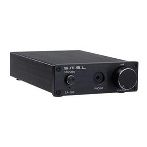 Freeshipping TDA7498E amplificador digital 160W potencia profesional de alta fidelidad estéreo clase d audífonos amplificador Junta de aluminio
