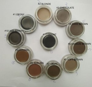 Augenbrauen-Make-up Pomade Wasserdicht Augenbrauen Enhancers 4g Blond / Schokolade / Dunkelbraun / Ebony / Auburn / Mittelbraun / TALPE mit Kleinpaket