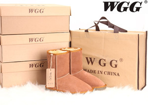 Style Womens 숏 부츠 클래식 부츠 WGG 여성 부츠 스노우 부츠 Brand Designer Leather Boot Drop Shipping
