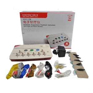 YENI SDZ-II Tedavi Enstrüman Düşük Frekanslı elektroakupunktur stimülasyon Stimülatörü Makinesi Sinir Kas Masaj Relax Sağlık Alet
