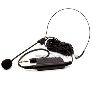 Professionnel Filaire Musical Headworn Condensateur Microphone Casque Mic Pour Ordinateur Sax Piano Discours Amplificateur Vocal Stade Microfone Microfono