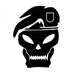 El Sanatları Die Kesim Tampon Vinil Çıkartması Araba Çıkartmaları Cam Çıkartmaları Çizikler Sticker Die Kesim Tampon JDM Kafatası