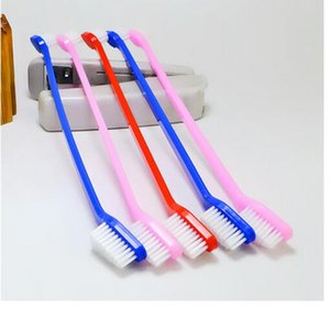 Ventas calientes Mascotas Suministros Cat Puppy Dog Dental Cepillo de dientes Color al azar entregado 200pcs DHL FEDEX UPS SF envío rápido