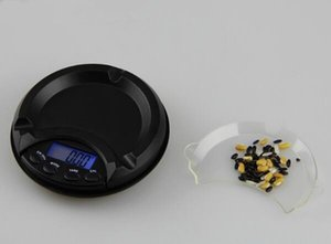 100шт Оптовая LCD Электронные цифровые карманные ювелирные изделия кухни Вес Подсветка Шкала 100g 200g 0.01g с розничной коробкой