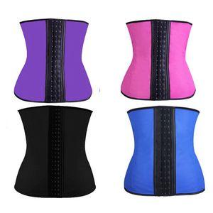 مشد ملابس داخلية للنساء ملابس داخلية الصلب الجوفاء الخصر المدرب رياضة أربطة الخصر underbust الخصر المدربين مشد حزام s-3xl
