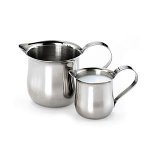 60 ملليلتر 2 أوقية الفولاذ المقاوم للصدأ وعاء القهوة إبريق مزبد سحب أكواب ZA4112 كابتشينو اتيه أكواب مجانية