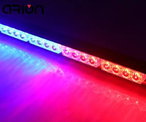 """Car-styling 18 """"16 LED emergenza traffico pericolo Flash Strobe Light Bar Attenzione rosso blu polizia ricaricabile faro luce di lavoro"""