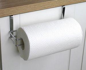Hot Hardware Kitchen Paper Holder Hanger Tissue Roll Towel Rack Baño Toilet Toilet Door Hanging Organizador Almacenamiento Holder Holder Rack
