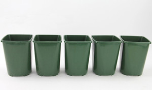 Atacado 50 PCS Durável Verde Semeadura Vasos de Plástico Postes para Planta Suculenta casa jardim cultivando potes