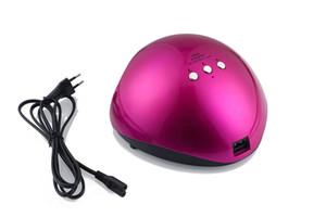 높은 품질 48W UV LED 램프 손톱 램프 전문 젤 네일 건조기 가벼운 네일 아트 도구 치료
