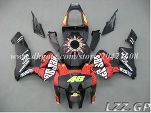 Brand new for Honda CBR600RR 05 06 CBR600 RR 2005 2006 CBR600RR F5 2005 2006 F5 fairings+tank #o20w8 Black red