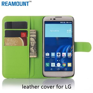 Coloré PU Housse en cuir Mobile Phone avec fente pour carte pour LG K8 K10 pour K7 LG G2 G3 G4 téléphone portable Case