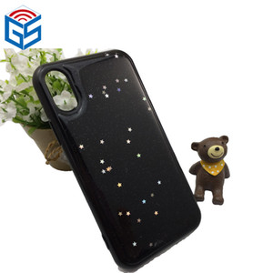 Anti Gravity Self Sticky Phone Case For Iphone X 10   8 Plus Latest Design Colorful Fashion Bling Phone Cover