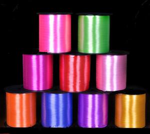 Cinta de globos coloridos Decoraciones para bodas Decoración de la sala de autos Cumpleaños de la boda Fiesta de Navidad Ballon Correa 250 yardas cada rollo