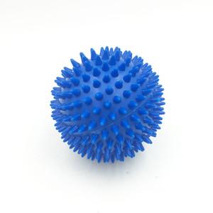 9 см 3.5 дюймов руки ноги шеи назад всего тела массаж мяч-ПВХ Ежик сенсорный обучение сцепление мяч-портативный физиотерапия массажер тела