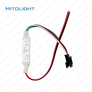 HITOLIGHT DC5V-24V SP002E 미니 마이크로 LED 컨트롤러 dimmer 3key LED RGB 컨트롤러 WS2811 WS2812 LED 스트립 모듈