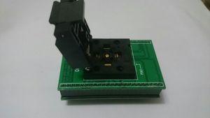 CNV-QFN40-DIP SOKET YANIKLI Enplas QFN-40BT-0.4-001 SOKET PCB KURULU QFN40PIN 0.4 MM PITCH İLE