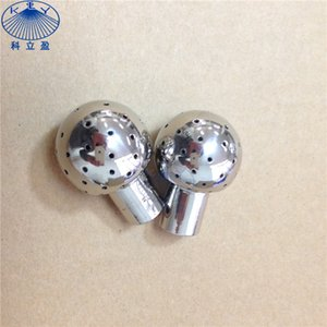 "10 pcs per lot, stainless steel 360 spray 1 8""BSPP 28mm fixed tank cleaning static spray ball"