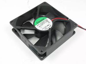 SUNON KD1209PTS2, 13.B2507.GN DC 12 V 1.7 W 2-fio 80mm 90x90x25mm Servidor Quadrado ventilador De Refrigeração