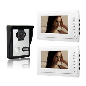 Xinsilu 7 بوصة اللون إنترفون السلكية الفيديو باب الهاتف 1v2 citofono فيديو إنترفون نظام المنزل V70F-L 1V2