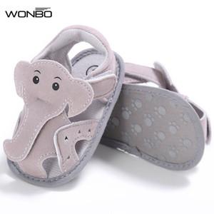 Al por mayor-WONBO First Walker PU zapatos de bebé zapatos de bebé mocasines recién nacidos bebés suaves zapatos de cuna zapatillas de deporte