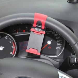 250pcs Car Streeling Steering Wheel Cradle Holder Clip Car Bike Mount para teléfono inteligente, teléfono móvil, teléfono Android