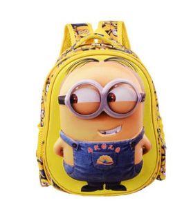 Nylon, mochila dos desenhos animados de moda couro do aluno de escola primária 3 d impressão crianças novas mochila crianças adequadas sob