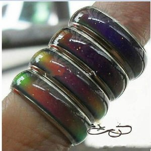 mix size mood ring changes color to your temperature reveal your inner emotion
